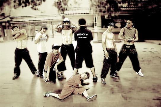 街舞 爵士舞