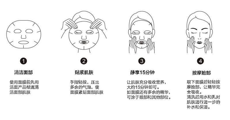 敷面膜的正确步骤