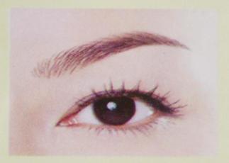 纸上眉毛的画法图集 眉毛的画法素描图片 标准眉毛的纸上画法图片